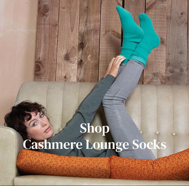 Shop Cashmere Lounge Socks
