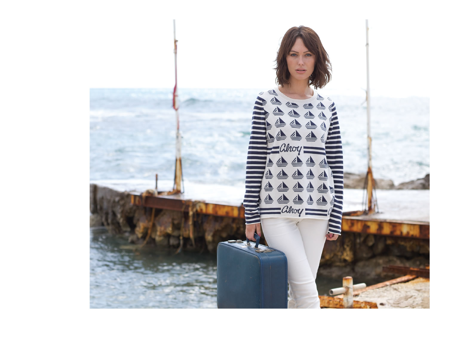 Ahoy Sweater