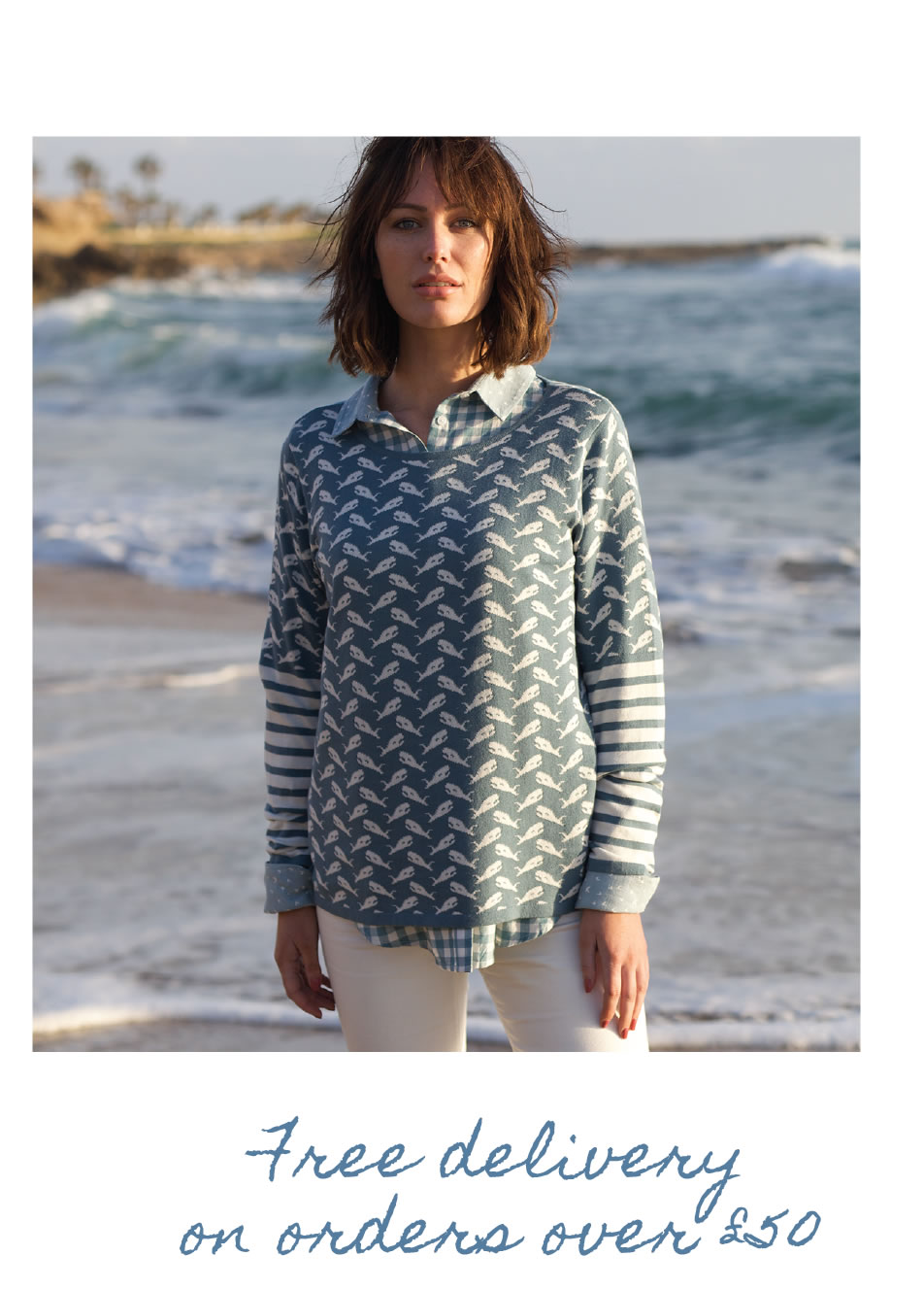 Whale of a Time Sweater