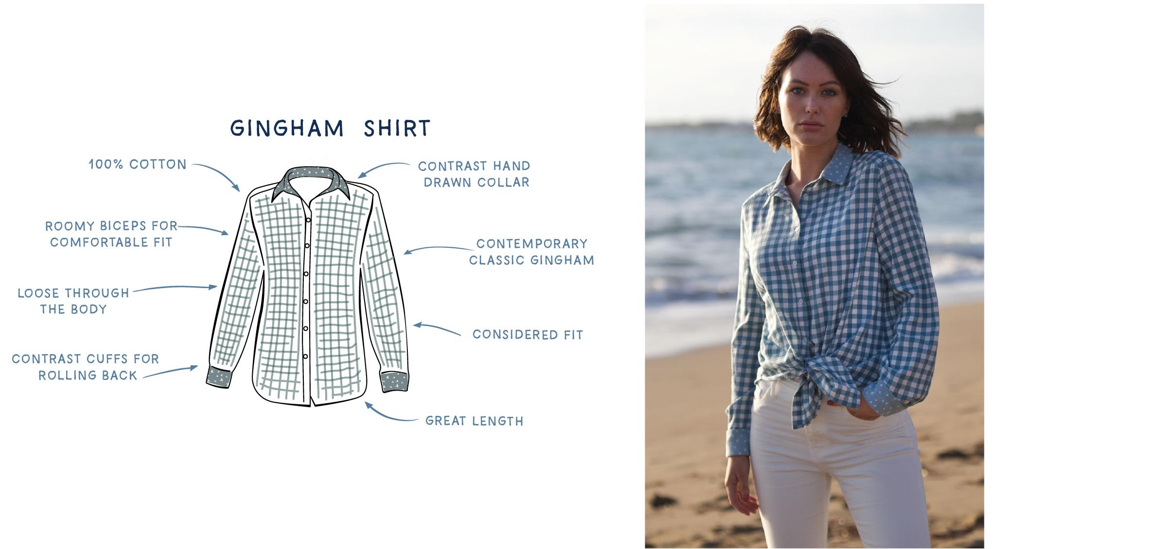 Goose Gingham Shirt